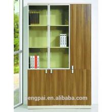 Grand glass door/wood door file cabinet for manager office