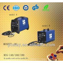 Convertisseur de matériau en acier approuvé DC kit de soudage de gaz portable mig co2