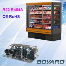 R22 r404a Kühlkompressor-Kondensator-Einheit für echte kommerzielle Kühlschrank-Ersatzteile Insel-Vitrine