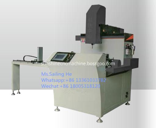 WZX-CNC-1000 ALUMINUM DRILLING MILLING MACHINE