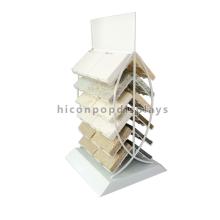 Fabrik Preis Double Side Home Decoration Bodenbelag Showroom Metall Rack Keramik Fliesen Display Ständer