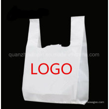 OEM Print Food Grade Supermarket Advertising Plastic Shopping Bag