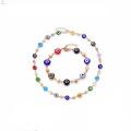 Diy Models Design Bead Bracelet Jewelry Sets For Ladies