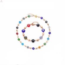 Conjuntos da jóia do bracelete do grânulo do projeto dos modelos de Diy para senhoras