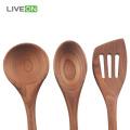 Ash Wooden Spoon Conjunto De Cozinha Saudável