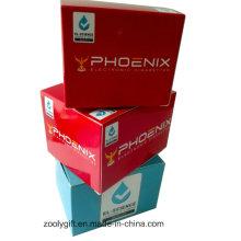 Personalizado de papel de impressão de papel dobrável dom caixa de embalagem para produtos eletrônicos