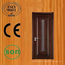 Projeto de porta de madeira maciça de alta qualidade