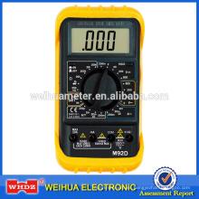 Alto CE multímetro digital exacto M92Dwith con la prueba de la batería del zumbador