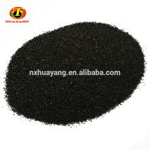 Materiales de purificación de agua activados granular de negro de humo