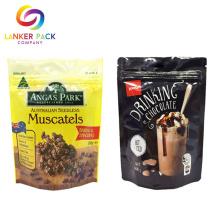 Kundenspezifisches Laminat-Material stehen Beutel Cashew-Nüsse