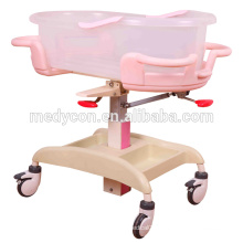 BDB08 Safety Acrylic Baby Crib For Hospital Medical Baby