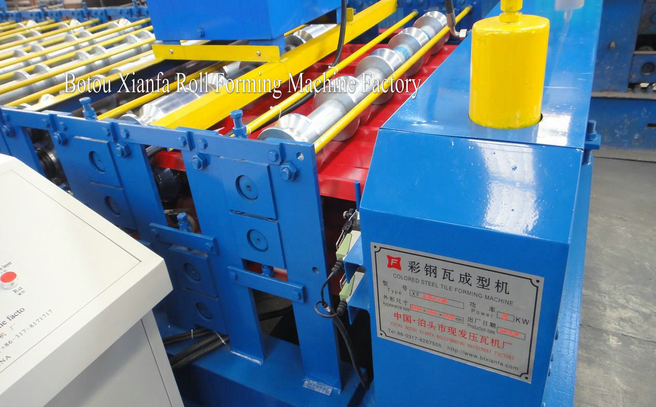 two layer roll forming machine
