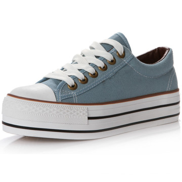 Canvas Shoes for Young Students with Lace