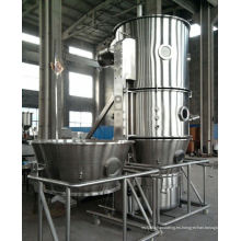 Secador de granulación del mezclador de ebullición de la serie 2017 FL, equipo de la cama flúida de los SS, máquina seca vertical del helada