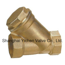 API Brass Thread Y Strainer Valve (GL11W)