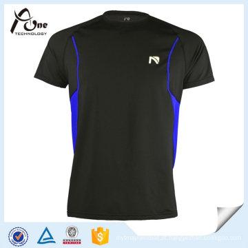 Roupa colorida feita sob encomenda da roupa por atacado da camisa lisa de T