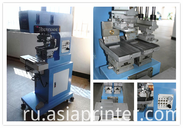2 color opentray pad printer