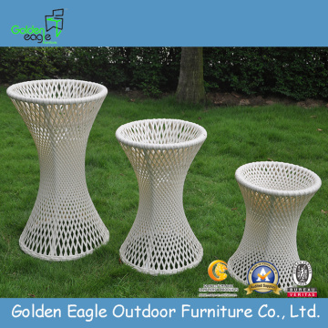 Rattan Round Flower Pot Optionale Farbe