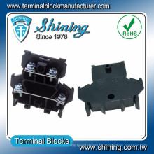 Connecteur de fil audio à double niveau TD-025 DIN Rail Monté à double niveau