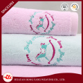 100% Baumwollstickerei Design Küchentuch und potholder Set Baumwolle weichen Handtücher