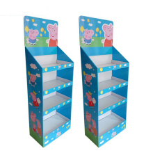 Online Manufacturer for Display Paper Box Supermarket Convenience Store Snack Paper Display export to India Exporter