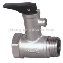 J0828 brass safety valve for heating