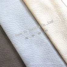 Velours de Polyester gaufré Suede canapé tissu (G69-34)
