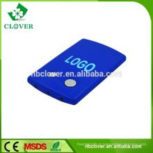 Média luz do cartão de luz laser 3 LED lanterna promocional de plástico