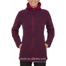 2014 chaqueta para mujer Al aire libre Ropa Polar polar interior El tanque de viento resistente a la chaqueta
