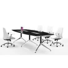 Chinese Office Furntiure Supply Black Conference Table (FOH-UMH36)