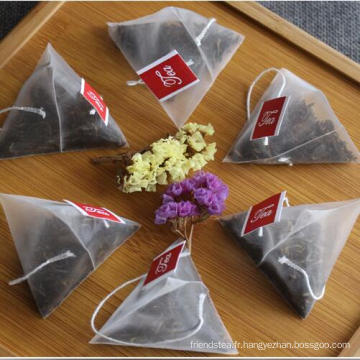 Thé de Yunnan sachet de thé noir