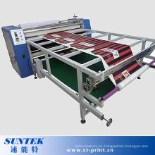 Máquina de transferencia de calor de la sublimación del estilo del rodillo del formato grande para la tela de Ployester