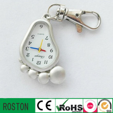 Movimento de Japão Metal Alloy Keychain Watch