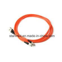FC à FC Om2 Câble de connexion à fibre optique à mode multimode