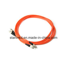 FC para FC Om2 Modo multimodo Fibra Óptica Patch Cable