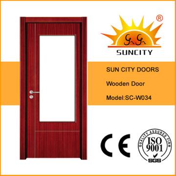 Precio de puertas de madera del tocador económico de calidad superior (SC-W034)