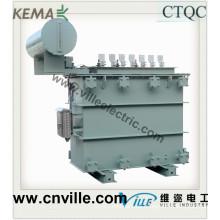 Transformador de distribución de energía de aleación amorfa