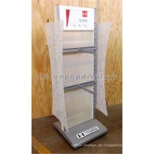 Bekleidungsgeschäft Fitting Bekleidungshaus Möbelgeschäftsbefestigung Metall Freistehende Kleidung Display Unit