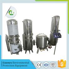 Le mini-minifère le plus récent utilise l'eau de sels salés fondus pour la distillation
