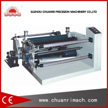 Drug Packing Aluminum Foil Tablet Blister Slitting Cutting Rewinding Machine