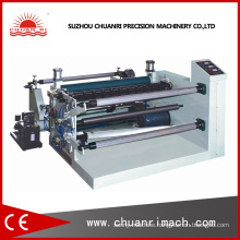Adhesive Sticker Label Slitting and Rewinding Roll Machine