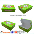 White card made cake package paper box