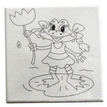 pintura diy crianças desenho me colorindo placa de tela