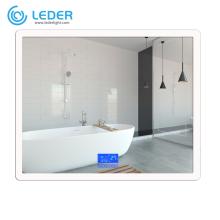 LEDER White Mirror With Lights