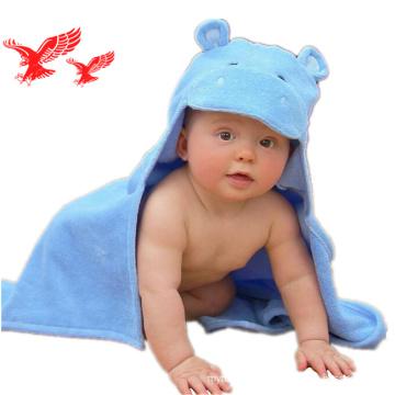 Alta Qualidade Iso Certificação Antibacterial 100% Bambu Fibra Com Capuz Toalha de Bebê