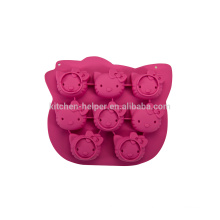 Новый дизайн жаропрочных продуктов класса Hello Kitty силиконовые формы для торта