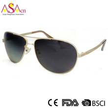Qualitäts-Art- und Weisemänner polarisierte Metall-Sonnenbrille mit UV400 (16003)