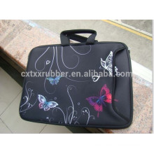 customized printing laptop sleeve, computer hand bag