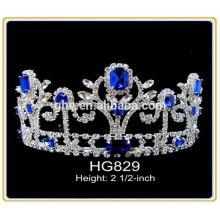 Fábrica completamente abastecida directamente corona de tiara al por mayor
