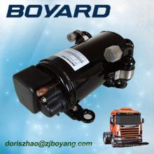 Zhejiang boyard r134a sem escova 12v 24v 72v compressor de ar do carro elétrico para condicionador de ar do reboque